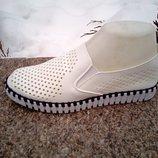 Женские слипоны , мокасины фирмы Siying размер 36-41 Белые