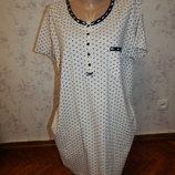 ночнушка, домашнее платьеце, можно для кормления р14-16