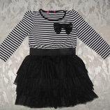 Красивое Платье Young Dimension на 2-3 года сост идеальное.