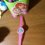 Прелестные розовые часики- игра для маленькой красавицы