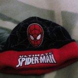 шапка спайдермен, человек паук на 52-58см Marvel