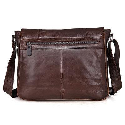 a3e122df231d Мессенджер 7338C натуральная кожа Бесплатная доставка мужская сумка через  плечо. Previous Next
