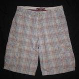 164 рост, клетчатые шорты Zara, в клетку, мужские