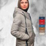 Курточка женская Лори демисезон размер 50 бордо