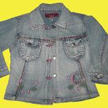 Джинсовый пиджак на 3-4 года