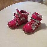 Демисезонные яркие ботинки - кроссовки
