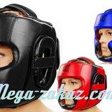 Шлем боксерский с полной защитой Elast 5342 шлем бокс 3 цвета, M/L/XL