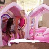 Игровой центр-домик Intex Принцессы с мебелью 48635