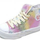 Ботинки для девочки B&G Хамелеоны