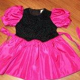 Импортное нарядное платье на 2-3 года