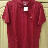 Новая красная футболка поло размер S от Эмиратских авиалиний