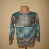 Тонкий свитер , теплый реглан на 4-5 лет Baker, 100% котон на ощупь шерстяной длина 45, ширина 35,