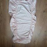 Простынь на резинке на матрасик в детскую кроватку Modal