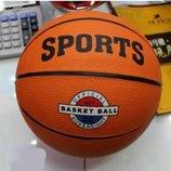 Мяч баскетбольный резиновый размер 7 520г BT-BTB-0017