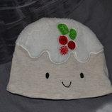 шапочка шапка тортик для ребенка или куклы