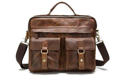 Акция мужская сумка натуральная кожа Бесплатная доставка портфель Marranti M8001C
