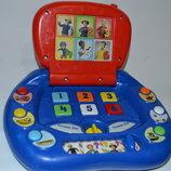 Фирменный развивающий ноутбук компьютер интерактивная игрушка