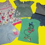 Пакет летних вещей на девочку 6-8лет,рост 116-128 см,Monsoon