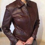 Натуральная кожаная курточка, 48р
