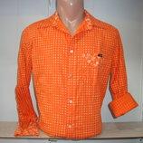 Мужская рубашка с длинным рукавом Raer.