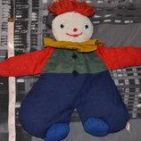 Sigikid Игрушка платочек сплюша кукла клоун органик германия сигикид