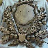 Медальоны для рогов животных