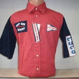 Распродажа Мужская рубашка с коротким рукавом W.S. 3 вида.