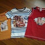 Футболки футболка для мальчика 3-6 лет