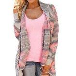 свитер женский Хит кофта накидка реглан пиджак