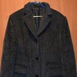 пальто - шерсть, новое , размер 42 европейский, на 48- 50