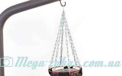 Цепь для боксерского мешка с карабином 3895-6 6 лучей, металл, длина 53см