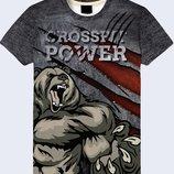 Модная 3D футболка Power