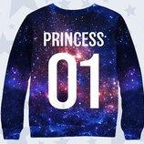 Красочный 3d свитшот Princess 01