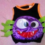 карнавальный новогодний костюм кофта паука на 1-2года