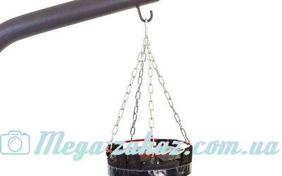 Цепь для боксерского мешка с карабином 4092Y2 4 луча 4S крючка, металл, длина 39см