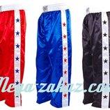 Брюки для кикбоксинга брюки для единоборств Elast 9016 3 цвета, M/L/XL