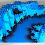 Лего Строительная пластина Lego 3D