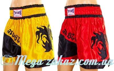Трусы для тайского бокса шорты для единоборств 6138 M/L/XL