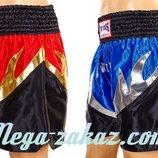 Трусы для тайского бокса шорты для единоборств 6141 M/L/XL