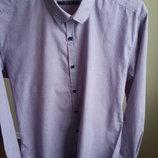 Красивая классическая рубашка размер S,M
