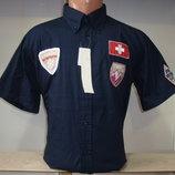 Распродажа мужской спортивной рубашки с коротким рукавом Vancouver Ski.