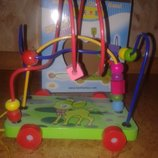 Деревянная игрушка Лабиринт каталка Олененок