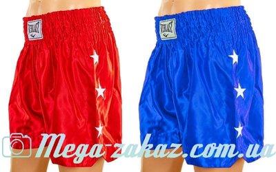 Трусы для тайского бокса шорты для единоборств 9007 L/XL