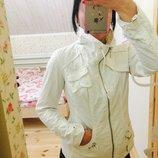Ветровка куртка белая с-ка 10-ка Next