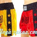 Трусы для тайского бокса шорты для единоборств 9005 M/XL