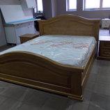 Спальня з масиву дерева дуб від виробника