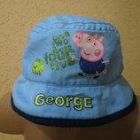 панамка для мальчика с Джоржем Peppa Pig 3-5 лет