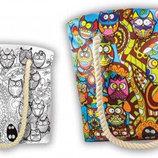 Творчество. Раскраска сумки My Color Bag