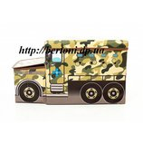 Пуф детский Автобус военный , Арт 550065