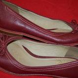 великолепный кожаный туфель-балеток Clarks
